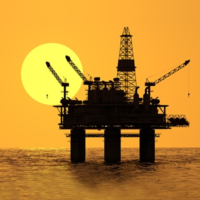 Oil Drilling Station